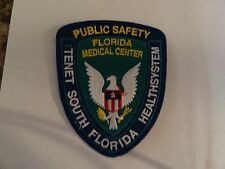 PATCH FIRE RESCUE MEDICAL FLORIDA MEDICAL CENTER TENET PUBLIC SAFETY SYSTEM