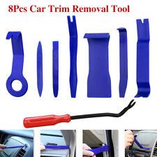 8 Car Trim Removal Tool Kit Door Panel Dash Radio Interior Clip Fastener Remover