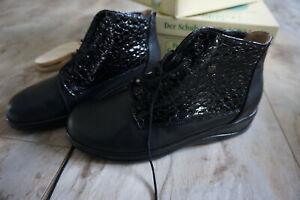 FINN COMFORT Wiessee Winter Boots Schuh Stiefel gefüttert Gr.5/ 38 schwarz NEU