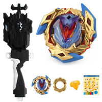 B-104 Beyblade Burst Starter Toy Bayblade Top Grip Launcher Kids Birthday Gift