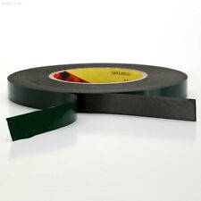 ECDF C6E7 10m Long Home Car Double Sided Tape Trim 10mm Wide Foam Green Adhesive