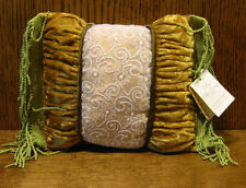 "Russ Berrie Teddy Accessory #17090-1 Mini Decorative Pillow, 6""x 6"", New"