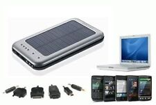 CARICABATTERIE UNIVERSALE SOLARE PANNELLO ENERGIA USB MP4 MP3 IPHONE SAMSUNG