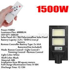 Calle solar de 3000W 1120LED Luz De Pared Lámpara De Jardín Sensor De Movimiento Infrarrojo Pasivo Con Control Remoto