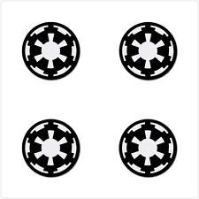 Star Wars Empire Logo Rubber Round Coaster (4 pack) - Free Shipping