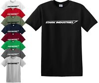 STARK INDUSTRIES T Shirt/Iron Man/Shield/Marvel/Comic/Father day/Gift/Top/Tee