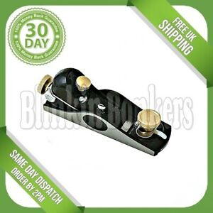NO 2 BLOCK SMOOTHING PLANE HEAVY DUTY HAND PLANING WOOD 175MM LONG 40MM BLADE UK