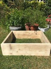 Reclaimed Scaffold Board Raised Bed Garden Planter