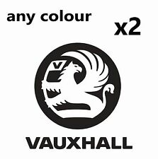 2 x Vauxhall Logo Stickers Corsa Astra Zafira INSIGNIA VXR Car Tuning decal
