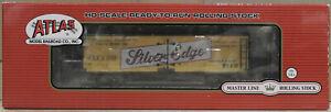 HO Atlas Master Line 20002016 40' Wood Reefer Silver Edge Beer #1002 BNIB