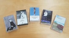 🔶️5x 1970s 80s BARBRA STREISAND  CASSETTE TAPES COLLECTION WALKMAN FANS