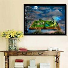 5D diy book fairyland sky full drill diamond Painting Cross Stitch home dGT