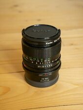 Canon FD 24 mm f/2.8 manual focus + FD to E-mount adapter (MINT CONDITION)