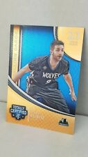 2016-17 Totally Certified calling cards #32 ricky rubio (timberwolves)