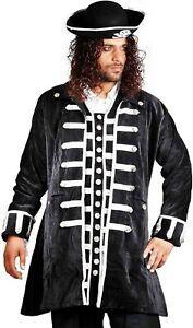 ThePirateDressing Medieval Renaissance Pirate 100% Cotton Captain Coat