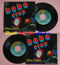 LP 45 7'' MARCHINI ORCHESTRA Bobo step Blue rider 1976 italy ATLAS cd mc dvd