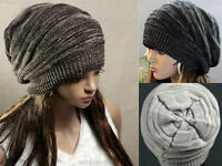 Calotte New unisexe des femmes des hommes en tricot d'hiver Beret Bonnet tricoté