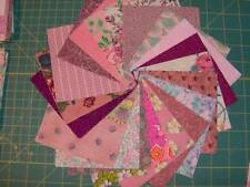 "40 - 4 1/2"" cotton fabric squares, 2 each of the pinks in the picture SQ1580"