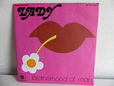 BROTHERHOOD OF MAN Lady 45 PY 3138