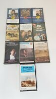 10 x Classical Cassette Tape Mixed Bundle Handel, Purcell Theatre Music & More
