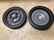 Two Ohio Steel Tow-Behind Lawn Leaf Sweeper Wheel Tire Complete Assembly 307011