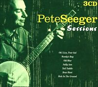 PETE SEEGER * Sessions * NEW 3-CD Box Set, includes 50 Songs * With Ewan MacColl