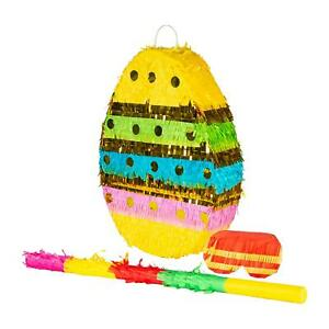 Easter Egg Pinata Party Set Seasonal Kids Party Game Decoration Spotty