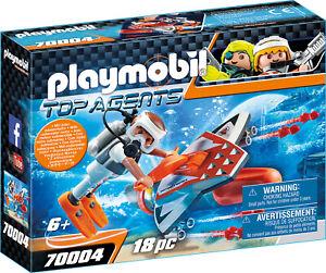 Playmobil 70004  SPY TEAM Underwater Wing mit Unterwassermotor   NEU / OVP