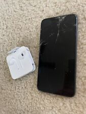 New listing Apple iPhone 11 Pro Max - 64Gb - Midnight Green At&T Cracked Screen