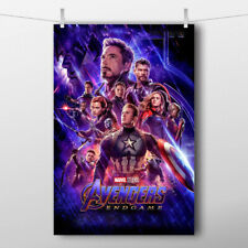 Movie Poster Marvel Avengers Endgame (2019) Picture Canvas Print Painting