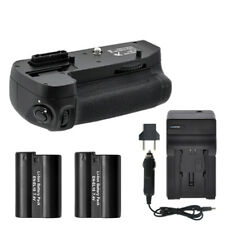 Battery Grip for Nikon D7100 D7200 + 2 EN-EL15 Batteries + Charger