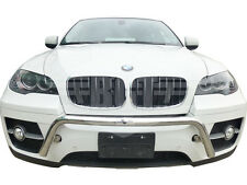 "BGT 08-14 BMW X6 FRONT BULL ""A"" BAR IN HITCH DESIGN BUMPER PROTECTOR GUARD S/S"