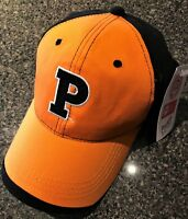 NEW HAT - PRINCETON U TIGERS - ADULT 100% COTTON - EMBROIDERED & FREE SHIP