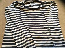 Beautiful Stylish Armani Junior Breton Style Cotton top size 111