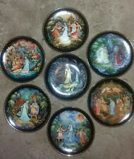 Set of 8 USSR/Russian Legend of SNOWMAIDEN Collector Plates