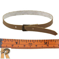 BR Criminal Crew 2 - Brown Leather Belt - 1/6 Scale - Craftone Action Figures