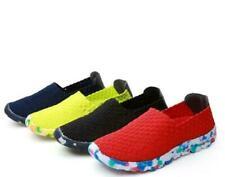 Hot Women Elastic Band Shoes Sandals Woven Shoes Flat Leisure Shoes Plus Size DF