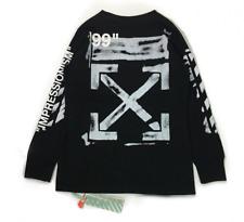 Off White Sweatshirt 99 Numbers Graffiti Unisex