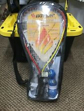 Ektelon Avenger Racquetball Racquet Power Pack Set, 2 Balls, Eye Guards New
