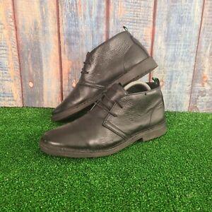 Nicholas Deakins Black Leather Ankle Shoes Size UK 7, EU 40