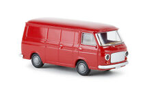 Brekina 34451 Fiat 238 furgone rosso prodotto dal 1967 al 1983, scala H0 1/87