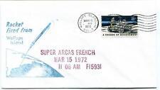1972 Wallops Island ROCKET FIRED Super Arcas French WFF Goddard Base NASA