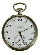 Señores reloj de bolsillo International Watch Co. Schaffhausen