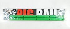 "Pig Skateboard Rails 14.25"" With 10 Wood Screws, Black White Blue Green Orange"