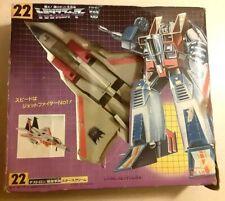 STARSCREAM 1983 Japanese Transformers ORIGINAL G1 TAKARA Toy Figure NOT Reissue
