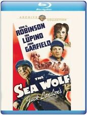 Blu Ray THE SEA WOLF. Edward G Robinson, Ida Lupino. Region free. New.