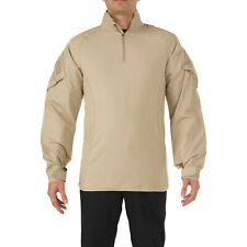 5.11 Tactical Rapid Assault Mens Shirt Long Sleeve - Tdu Khaki All Sizes