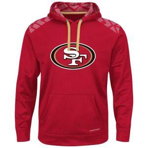 "San Francisco 49ers Majestic NFL ""Armor"" Men's Pullover Hooded Sweatshirt"