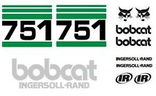 (ORIGINAL LOOK) BOBCAT 751 NEW FULL DECAL STICKER SET KIT 1