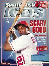 2005 Sports Illustrated for Kids w/Cards: Vladamir Guerrero Angels/Tiger Woods